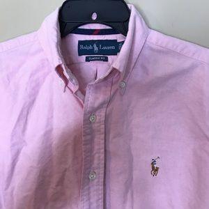 Ralph Lauren Tops - Vintage Ralph Lauren Pink Classic Shirt Size S